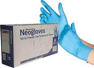 Nitrile Powder-Free Medical Examination Gloves - Pack of 100