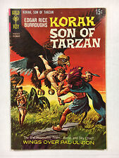 Korak Son of Tarzan #26  F+  Gold key comic 1968 Painted cover