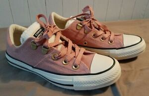 Converse Women's Size 5 CTAS Madison Low Top Ox Sneaker Rust Pink/Natural Ivory
