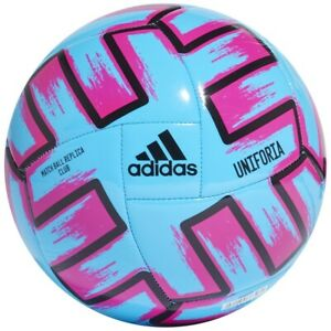 Ball adidas UNIFORIA Club FH7355 blue 5 Euro 2020-2021