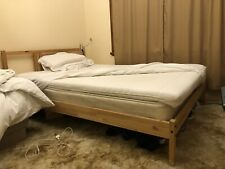Double bed & Mattress & ikea pad for sale