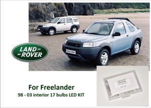 LAND ROVER FREELANDER 98 - 03 Interior 17 LED KIT