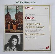 GML 47 - ROSSINI - Otello highlights ZEANI / LAZZARI / PREVITALI - Ex LP Record