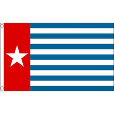 West Papua Flag 5Ft X 3Ft New Guinea Indonesia Banner With 2 Eyelets New