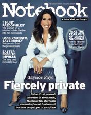 Notebook Magazine Gaynor Faye 24/3/18 New Russell Howard Matt Le Blanc