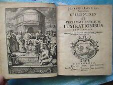 APOTHEOSIS HOMERI, 1683 + lustrations chez les anciens, 1700, planches.