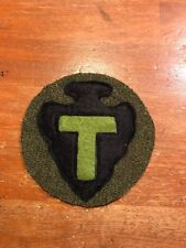 WWI US Army 36th Division patch wool