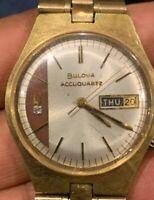 Bulova Accuquartz J481140 Wristwatch Men's Watch Running Pure Quartz Movement