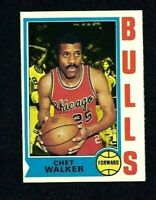 NMT 1974 Topps Basketball #171 Chet Walker.