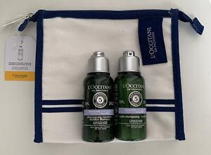 Loccitane - Essential Oils shampoo + conditioner Gift Set