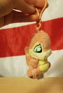 Neopets Baby Scorchio Plush with Backpack Clip No Tag Limited Too 2004 Rare