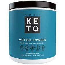 NEW Perfect Keto MCT Oil Powder - Medium Chain Triglycerides Keto Coffee Creamer
