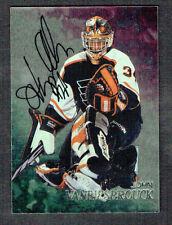John Vanbiesbrouck #252 signed autograph1998-99 Upper Deck Be A Player Card