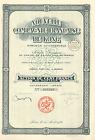 Nouvelle Compagnie Francaise de Kong Afrique Occidentale SA,accion, Paris, 1927
