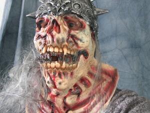 HEXENKÖNIG - Horror Effekt Latex Maske FX Karneval Halloween Lich Skelett Skull