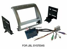 Toyota Tacoma Double Din Car Stereo Radio Install Dash Mount Kit JBL Harness
