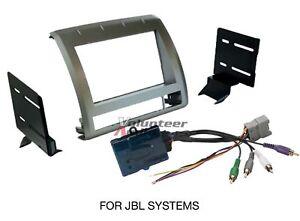 Toyota Tacoma Double Din Car Stereo Radio Install Dash Mount Kit JBL Harness