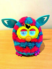 Furby Boom turquoise/pink hearts interactive electronic pet, Hasbro 2012