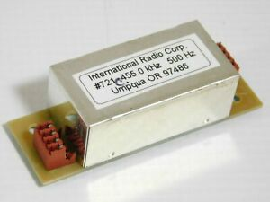 Inrad 721 455kHz 500Hz CW Mechanical Filter for Yaesu FT-1000MP (tested)