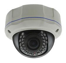 Hd Tvi 1080P Dome Camera 2Mp 1/3 Sony 2Mp Lens Varifocal 2.8-12mm 30 Ir Usa. New