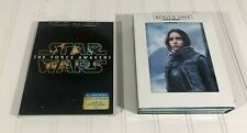 Rogue One: A Star Wars Story 3D Blu-ray DVD Target Exclusive w/ Force Awakens