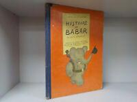 Jean De Brunhoff - Histoire De Babar - French Language - c.1933 (ID:777)
