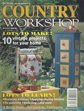 Wood Magazine's COUNTRY WORKSHOP (Winter 1997/98) 10 Vintage Projects ~ F443
