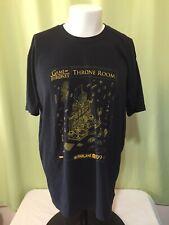 Game of Thrones Throne Room Todd Mcfarlane Men's Black T Shirt Size  XL