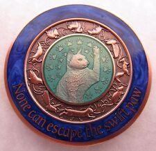 Duncan Geocoin - Bluebird Edition - Cat Coin