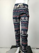 ABERCROMBIE & FITCH Fair Isle Print Flannel Lounge Pants XL NWT $48