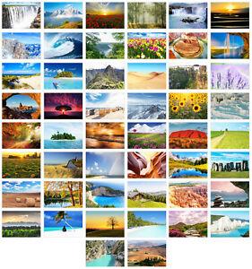 Set 50 Premium Postkarten Landschaften  (20238)