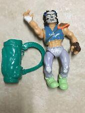 1989 Playmates Teenage Mutant Ninja Turtles Filecard-Casey Jones VINTAGE