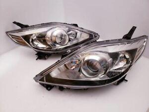 Mazda 5 Right And Left Halogen Headlight 08 09 10 GENUINE OEM NEW