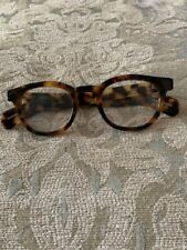Eye bobs reading glasses  Tortoise frame  Reading strength +1.50 Handmade