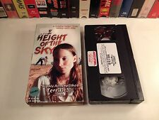 * The Height Of The Sky Drama VHS 1999 Jennifer Weedon 30's Arkansas Clintons