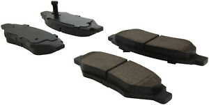 Disc Brake Pad Set-C-TEK Ceramic Brake Pads Rear Centric 103.13370