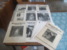 Wisconsin Country Magazine 1930s Lot of 13 Copies, Shorewood Dream Girl, +++++++