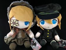 Hatsune Miku Plush Doll set of 2 Taito Vocaloid Senbonzakura Kagamine Rin & Len