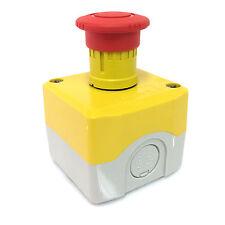 Emergency Stop Mushroom head Control Box XALK178 Schneider 1NC *New*