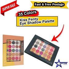 Kiss Fenty Eye Shadow Palette Make up 35 Colors Cream Matte Shimmer Set Cosmetic