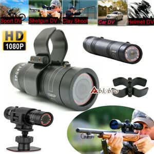 Mini DV Sports Gun Video Outdoor Camera HD For Hunting Shooting Cam + Clip Mount