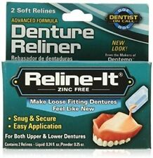Dentemp Denture Reliner - 2 Soft Lines
