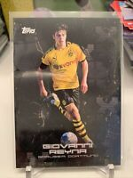 Giovanni Gio Reyna 2020 Topps x BVB Curated Set USMNT Dortmund Rookie Card 15 RC