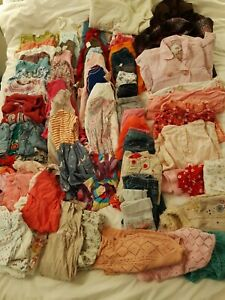 Huge Bundle Of Girls 12-18 Month Clothes - 82 Items