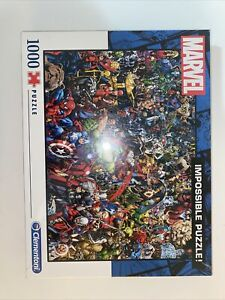 Clementoni 39411 Marvel Impossible Puzzle - 1000 Piece Free Shipping In Aus