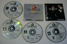 Final Fantasy Viii 8 (Sony PlayStation 1) Complete Black Label - Ps1