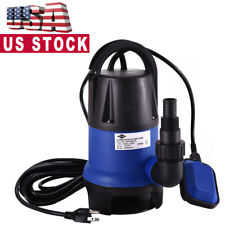 2000 GPH Submersible Clean Dirty Water Pump 1/2HP Swimming Pool Pond Flood Drain