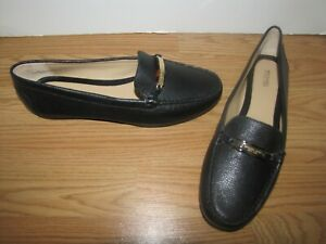NWOB Michael Kors Black Flat Loafers - 11M