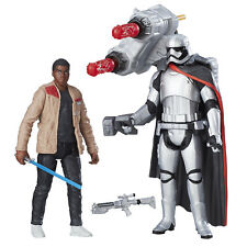 "Star Wars The Force despierta Finn (Jakku) vs capitán phasma 3.75"" Figuras Hasbro"