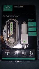 Merkury Wireless FM 88.1 - 107.9 Transmitter for IPod MP3 Music Universal Mobile